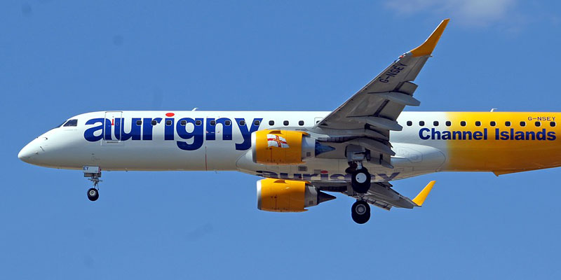 Fly Aurigny to Guernsey.