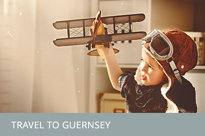 Travel to Guernsey.